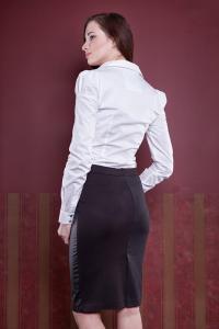 Bílá dámská košile/body Madonna 45