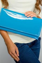 Elegantní psaníčko modré