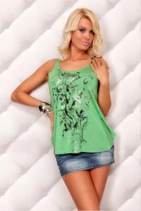 Letní zelený top