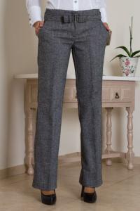 Vlněné šedé kalhoty Quiosque 15-2