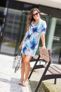Dámské krátké šaty Tropical