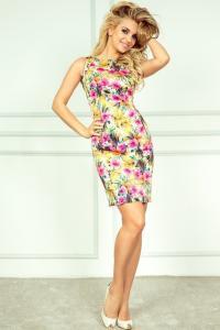 Luxusní letní pouzdrové mini šaty