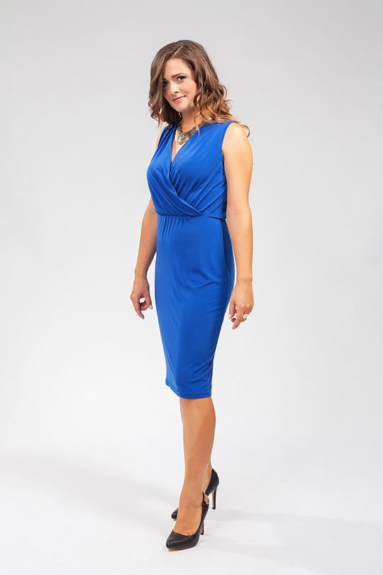 Dámské koktejlové šaty Veraal - královsky modré e36ba9543a
